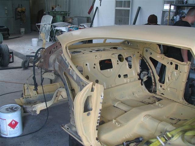 Back half removed