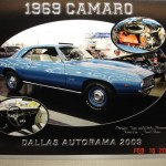 1969 Camaro entry plaque