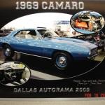 1969 Camaro entry plaque