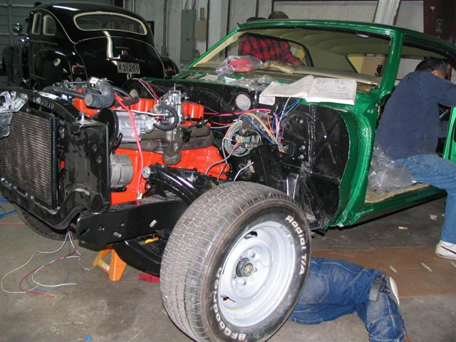 Hot Rod Classic And Muscle Car Mechanic Services NORTH TEXAS - Muscle car repair
