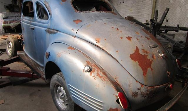Building A 1939 Dodge Lead Sled