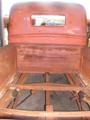 1940 Ford truck bed