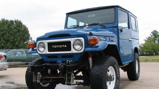 81 FJ40 Land Cruiser