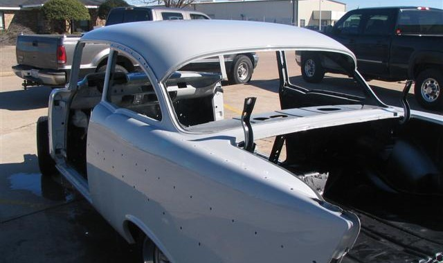 57 Bel Air Resto Ready For Paint