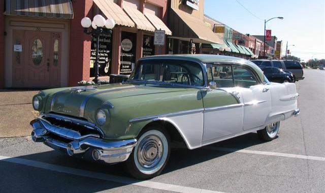 Nostalgia Lives In A '56 Pontiac