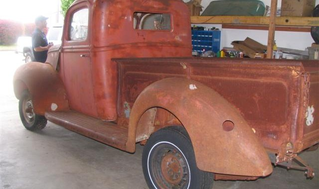 Getting In Gear On Our '40 Ford Pickup